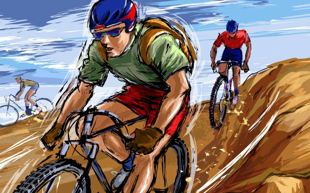 Drawn_wallpapers_Bicyclist_011070_